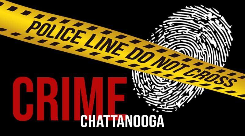 Chattanooga Tennessee Crime - Police Line Do Not Cross - Fingerprint