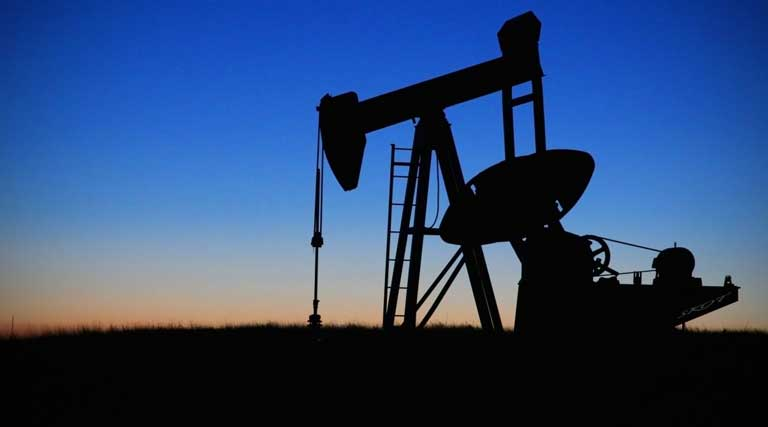 Oilfield_Oil Pump_Sunset_Silhouette