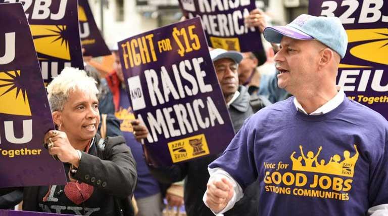 $15 Minimum Wage_Fight for 415_Raise America_Good Jobs_Strong Communities_Debate