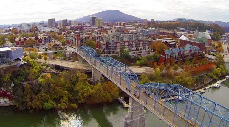 Downtown Chattanooga Tennessee