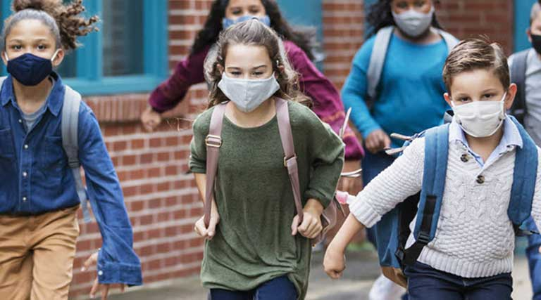 Hamilton County Schools_Tennessee_Kids Going To School_Masks