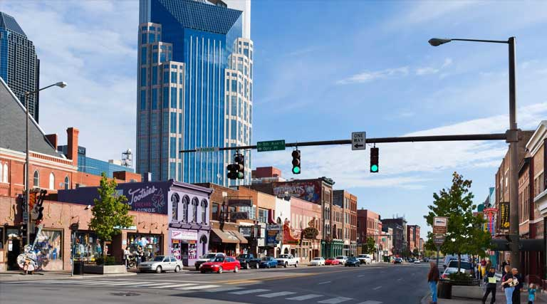 Downtown Nashville_Tennessee