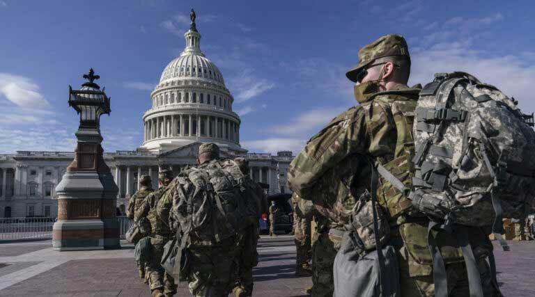 National Guard Troops_U.S. Capitol_Joe Biden Inauguration_Jan 17 2021