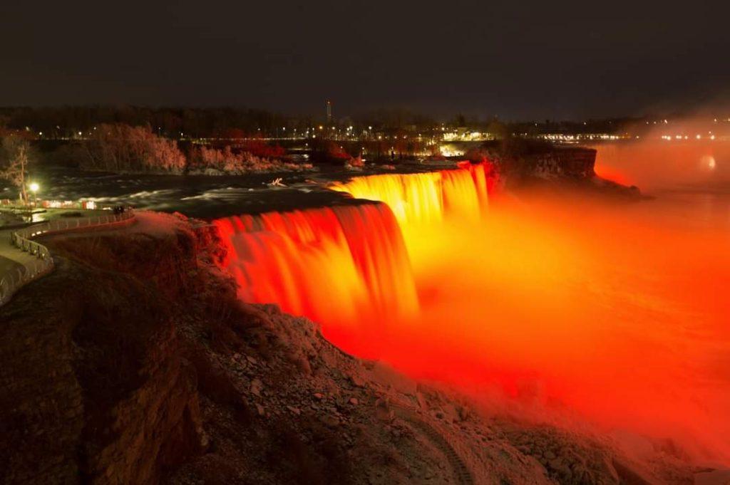 Niagara Falls_Lights_National School Choice Week