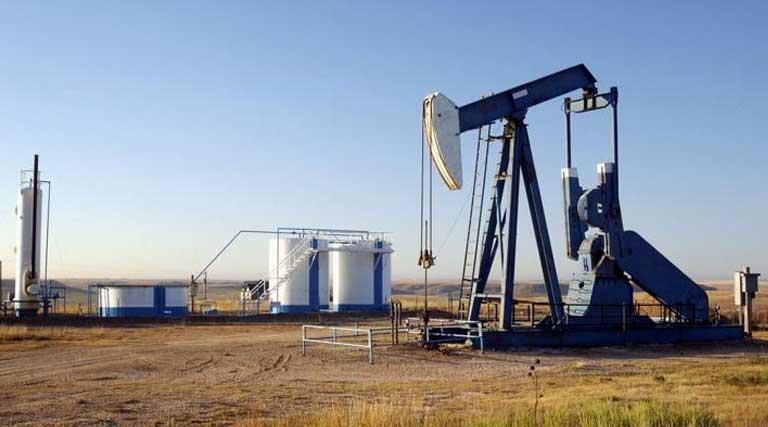 Oil Well_Storage Tanks_Texas Panhandle