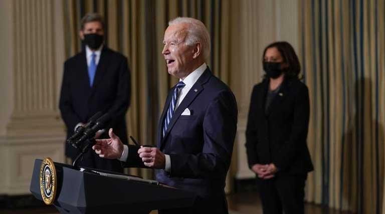 Joe Biden_Climate Change_Green Jobs_White House_Kamala Harris_John Kerry