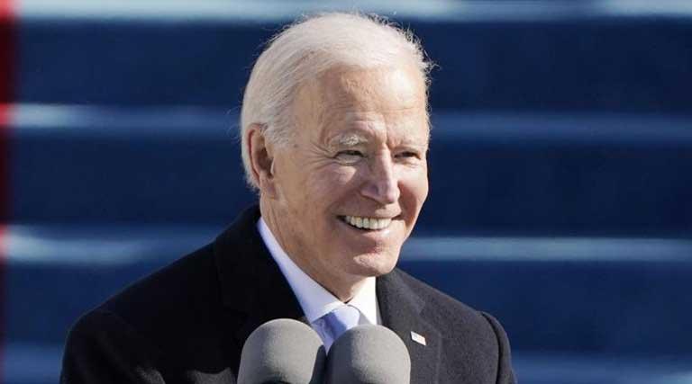 President Joe Biden_Inauguration_U.S. Capitol_Washington D.C._Jan. 20 2021