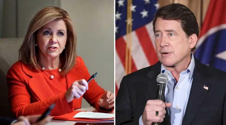 TN Senators Marsha Blackburn and Bill Hagerty