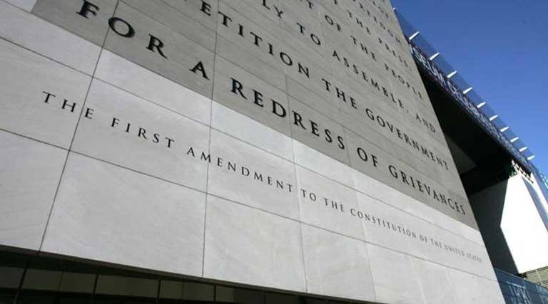 Constitution_First Amendment_Newseum_Washington D.C.