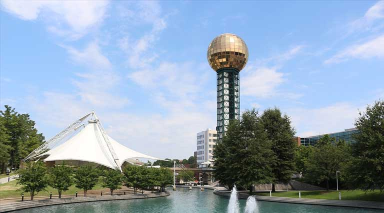 Sunsphere_World's Fair Park_Downtown_Knoxville_Tennessee