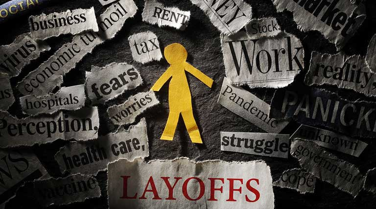 Coronavirus Pandemic Job Loss Unemployment Layoffs