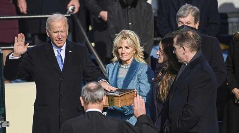 Joe Biden_Inauguration_Washington D.C._Jan. 20, 2021.