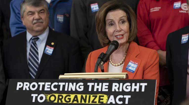 Protecting the Right to Organize_PRO Act_Nancy Pelosi_Richard Trumka