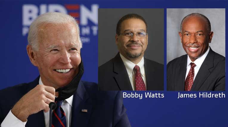 Joe Biden_Bobby Watts_James Hildreth_Nashville_Health Equity Taskforce