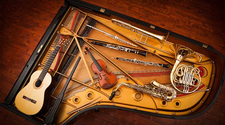 Chattanooga_Virtual Music Events_Musical Instruments_Piano_Violin_Guitar_Brass_wind instruments