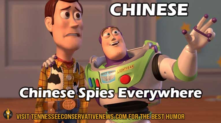 Chinese Spies Everywhere_Humor_Meme_Toy Story_TheTennesseeConservative