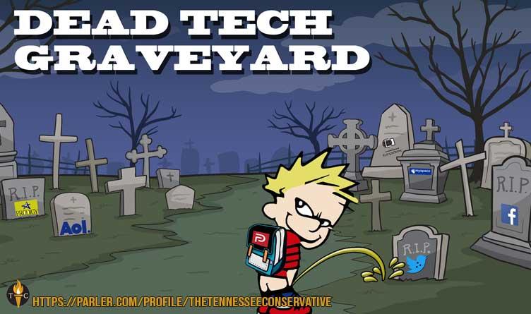 Parler Relaunch - Dead Tech Graveyard