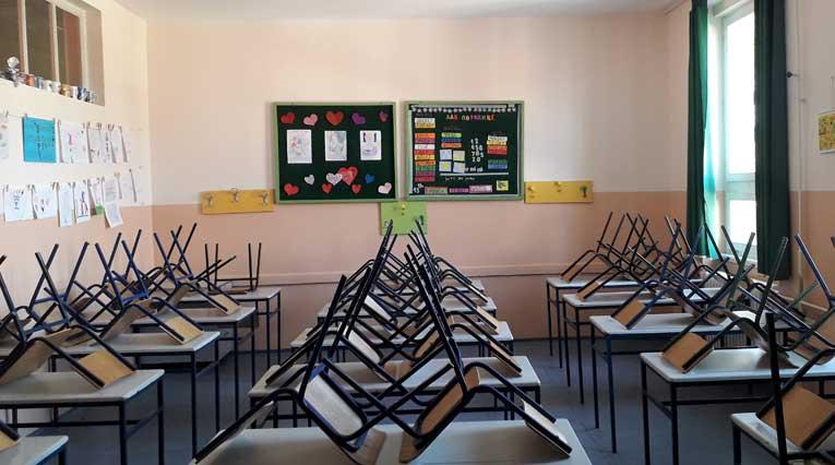 Empty Classroom_School Closures_COVID-19
