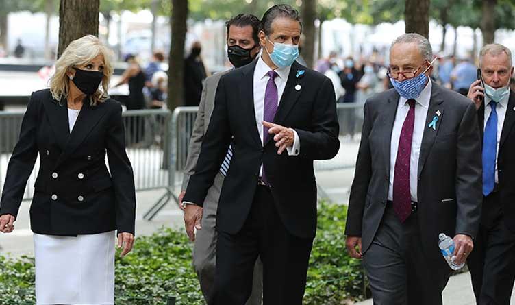 Jill Biden_Andrew Cuomo_Charles Schumer_New York City