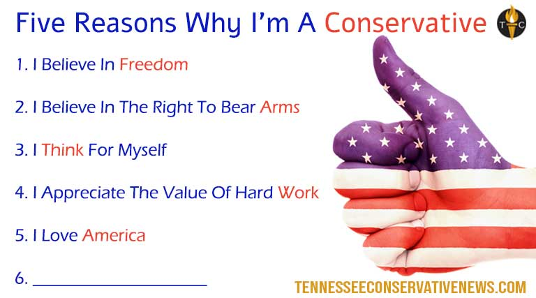 Five Reasons Why I'm A Conservative