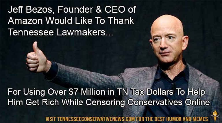 Jeff Bezos_Amazon_Tennessee_Lawmakers_Conservatives_Online_Censorship_Rich