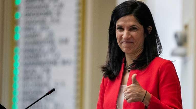 Maine Democrat_Sara Gideon_$11.6 million _unsuccessful Senate bid