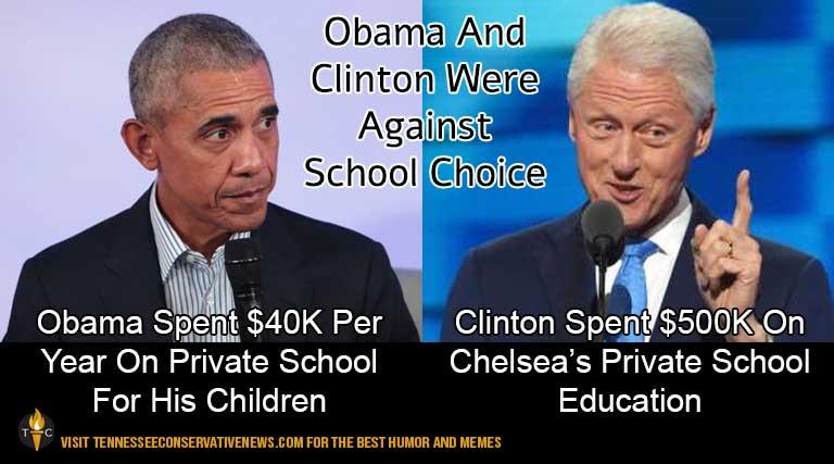 Barack Obama_Bill Clinton_School Choice