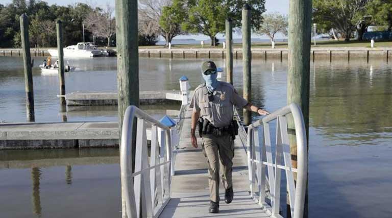 Park Ranger_Face Mask_Mask Mandate_Everglades_Florida