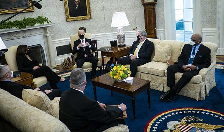 Joe Biden_Kamala Harris_Union Leaders_White House
