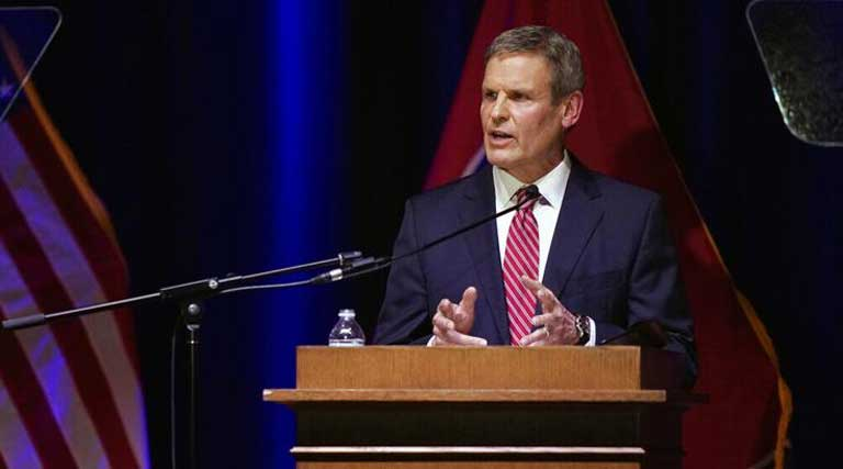 Tennessee_Governor Bill Lee_State of the State Address_War Memorial Auditorium_Nashville