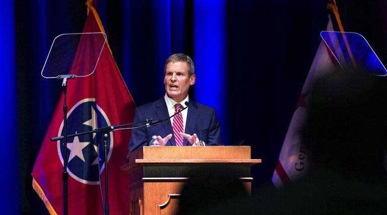 Governor Bill Lee_State of the State Address_Tennessee_War Memorial Auditorium_Nashville