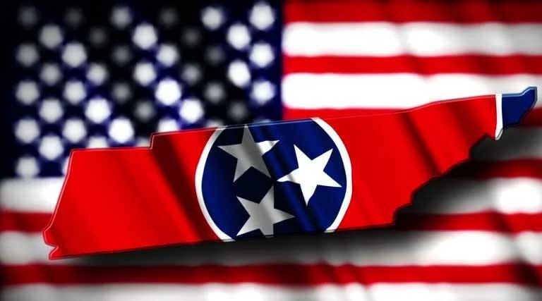 Tennessee U.S. Flag
