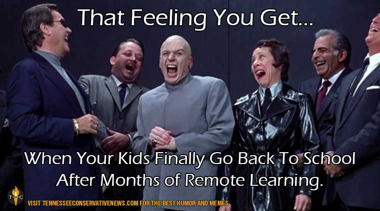 That Feeling You Get_Dr. Evil_Austin Powers_ Remote Learning _ Returning To School_ Back to School