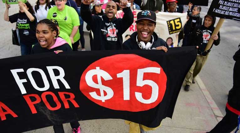 Rally_Minimum Wage_Fight For $15