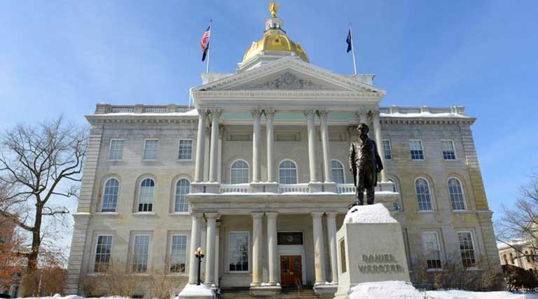 New Hampshire_State Capitol Building_Concord