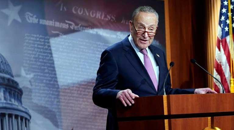 U.S. Senator_Chuck Schumer_Capitol Hill_Washington D.C.