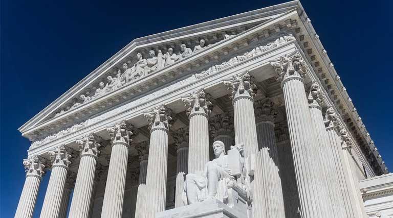U.S. Supreme Court Building in Washington D.C