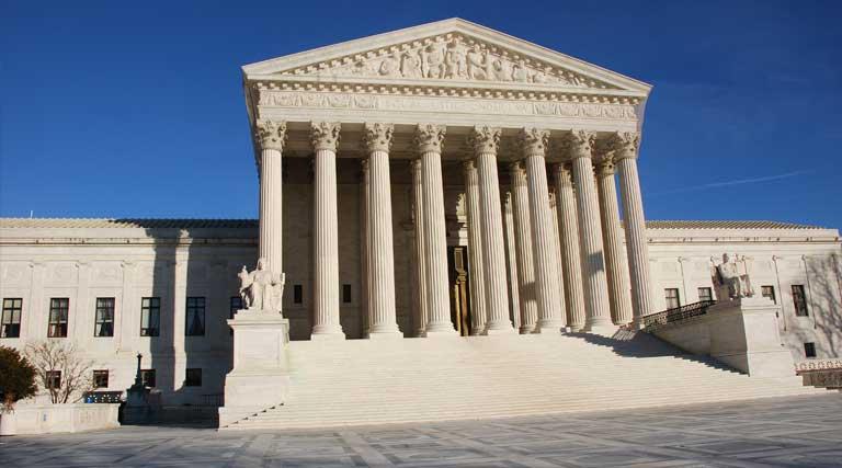 United States Supreme Court Building_Washington D.C._Front Facade