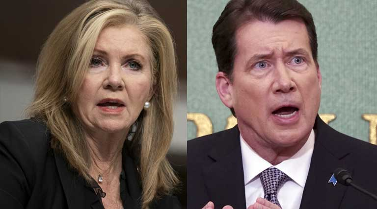 Tennessee Senators_Senator_Marsha Blackburn_Bill Hagerty