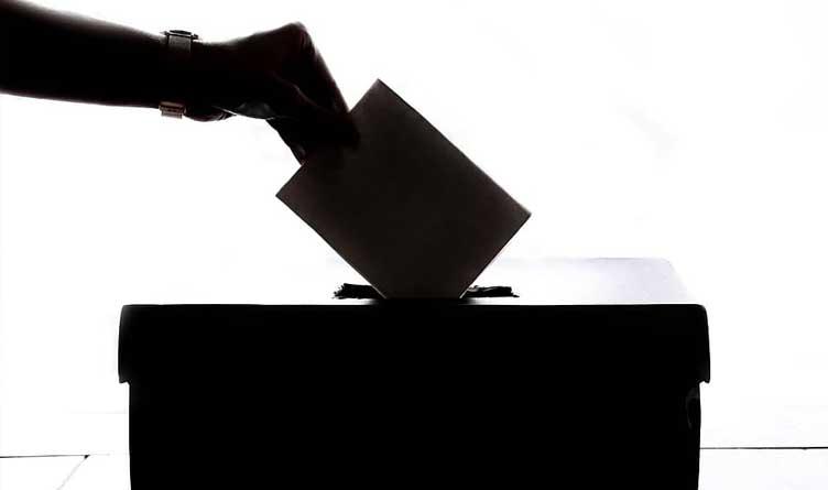Ballot Drop Box_Silhouette_Voting