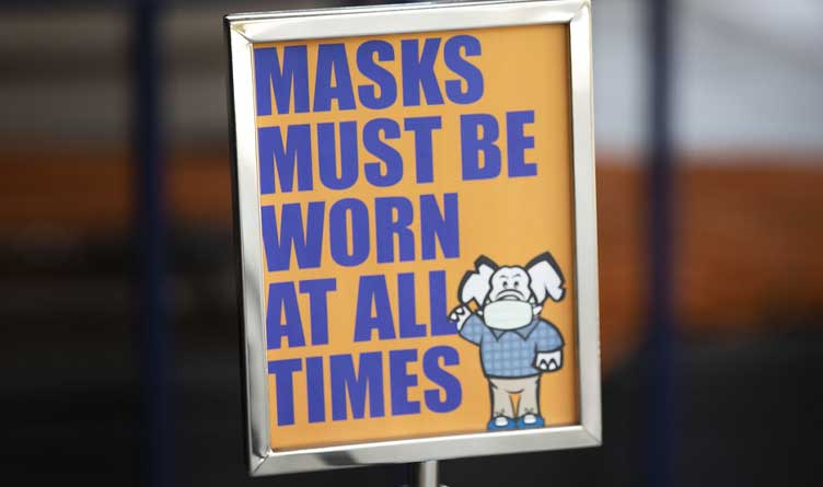 Republican Elephant Mask Mandates Tennessee Mayors