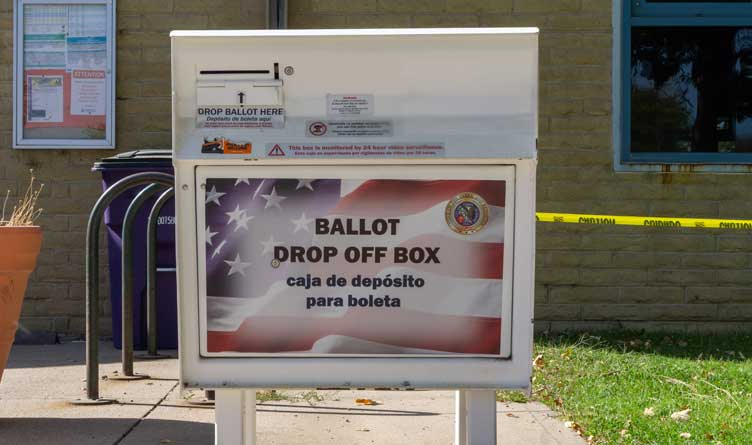 consequences of federalized elections Ballot Drop Off Box