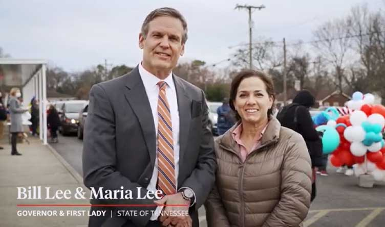 Tennessee_Governor Bill Lee_First Lady Maria Lee