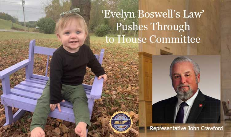 'Evelyn Boswell's Law' Pushes Through to Tennessee House Committee