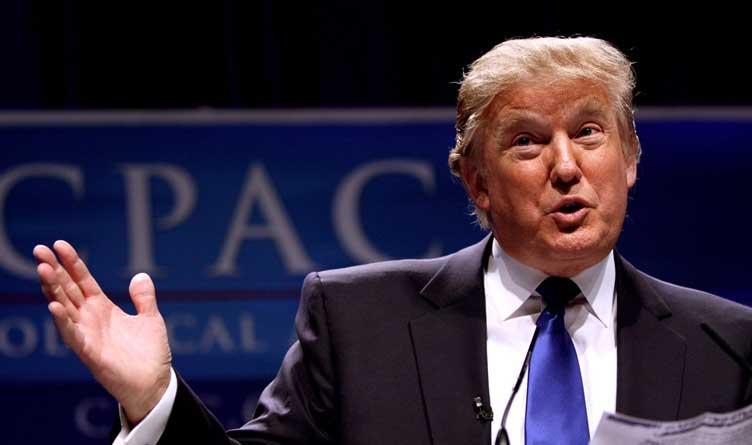 Former President Donald Trump CPAC 2011