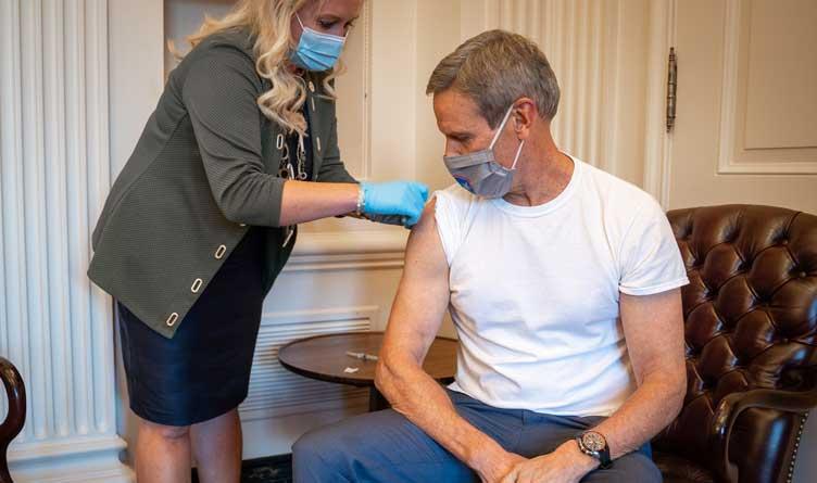 Tennessee Governor Bill Lee Flu Shot