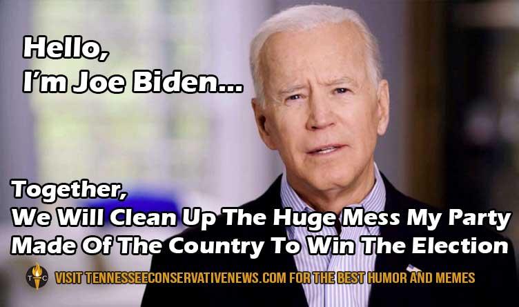 Hello, I'm Joe Biden Humor Meme