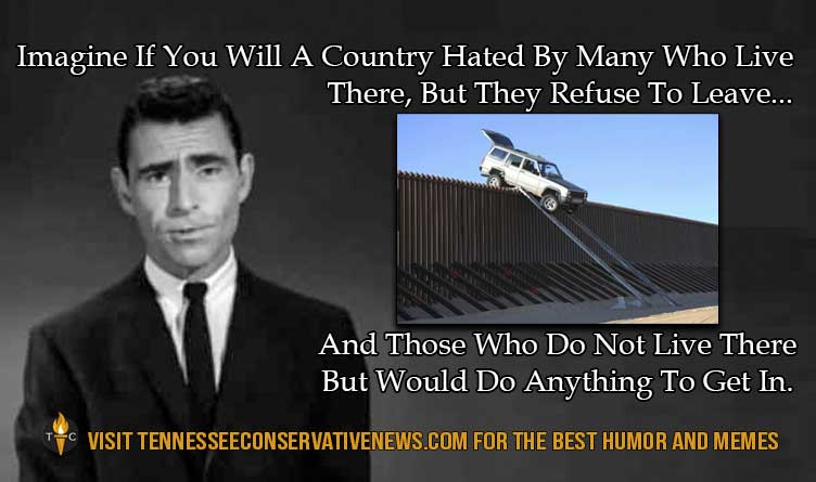 Border Wall_Twilight Zone_Ron Sterling_Immigration_Meme