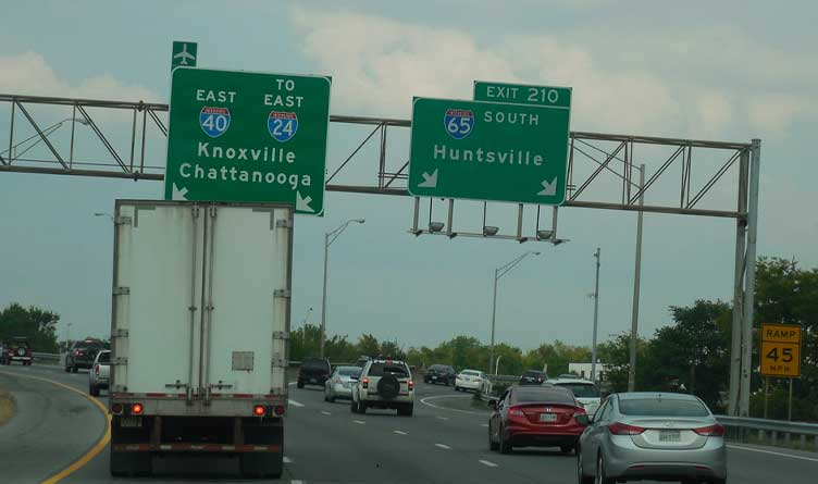 Tennessee Interstate Construction To Be Halted For Easter Weekend