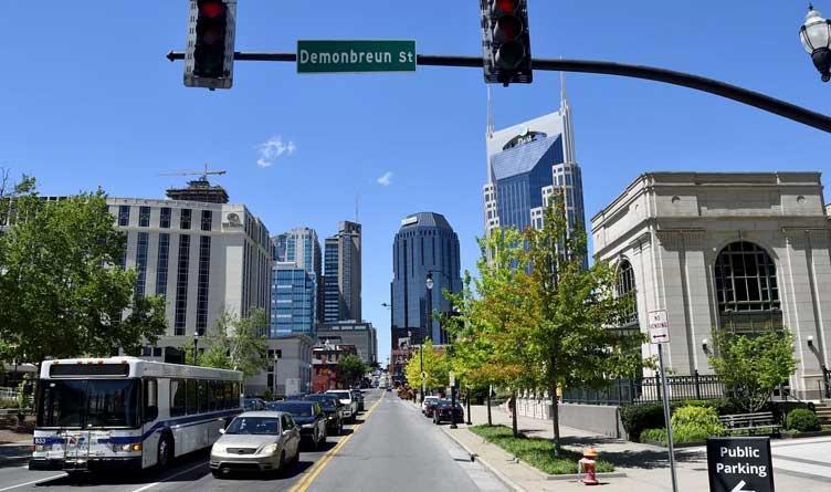 Nashville Demonbreun St Tennessee